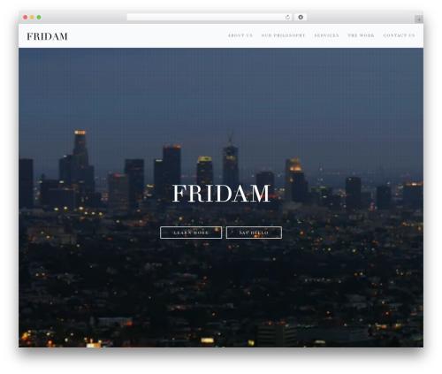 Free WordPress Super Simple jQuery Parallax Background plugin - fridam.co