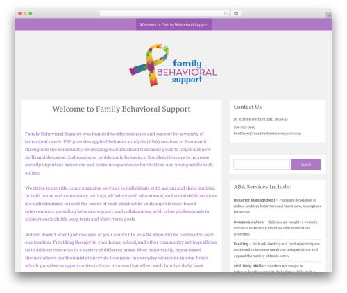 Sean Lite WordPress theme download - familybehavioralsupport.com