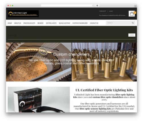 UberStore best WooCommerce theme - fiberopticlightingkits.com