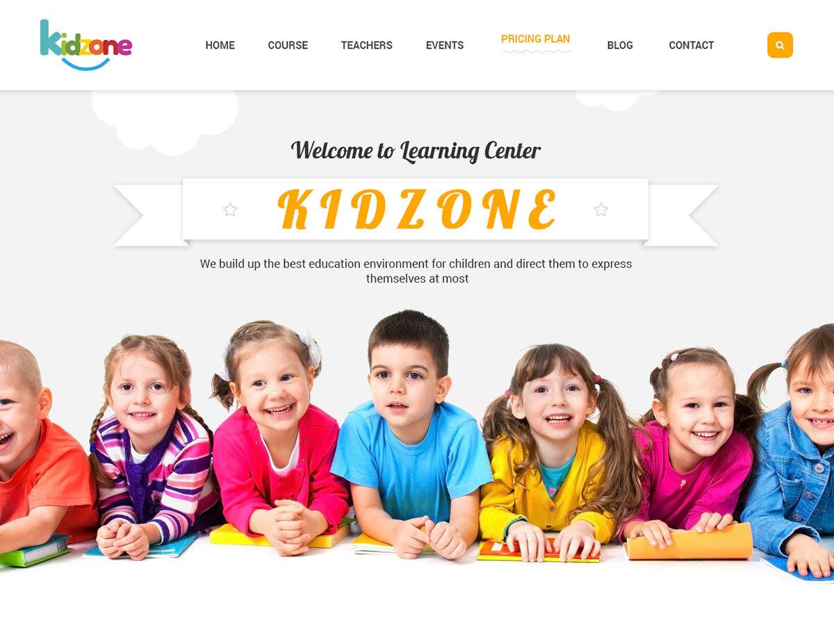 WordPress theme Yolo KidZone
