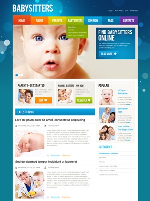 WP theme WordPress Theme 1336