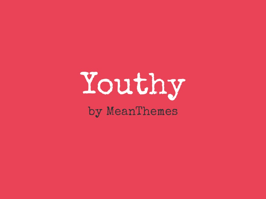 Youthy best WordPress theme