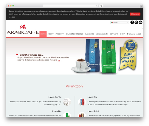 AccessPress Staple Pro WordPress theme - arabicaffe.it