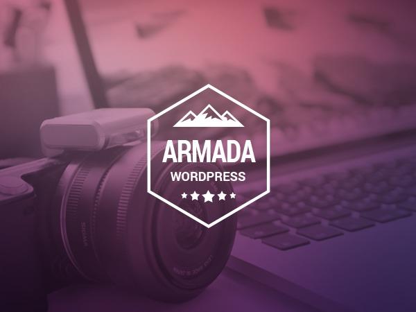 Armada (shared on wplocker.com) wallpapers WordPress theme