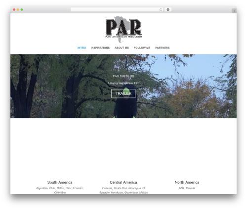 Divi WordPress theme - panam-rouleur.com