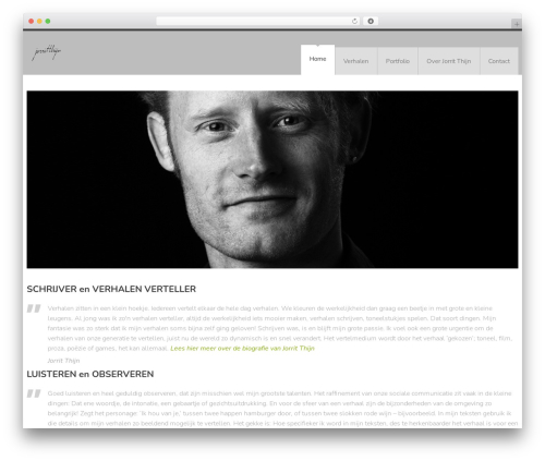 YellowProject Multipurpose Retina WP Theme WordPress theme - jorritthijn.nl