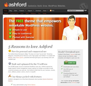 Ashford template WordPress