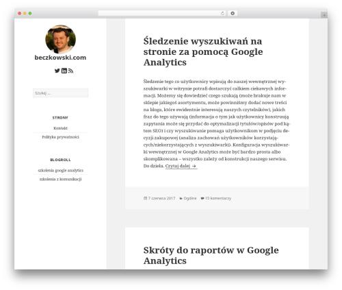 Free WordPress wpLike2Get plugin - beczkowski.com