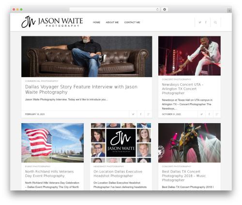 Enpine WordPress page template - jasonwaitephotography-blog.com