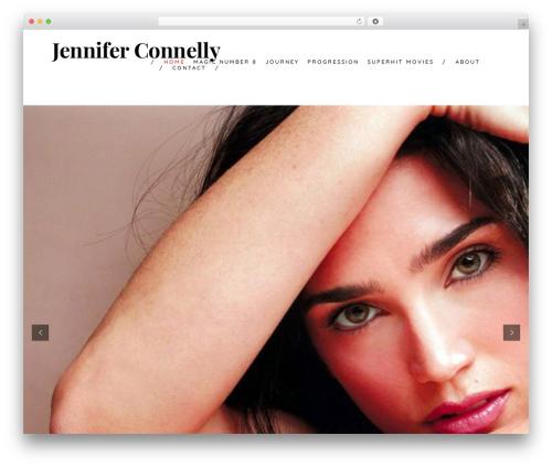 Theme WordPress Shutter - jenniferconnelly.net