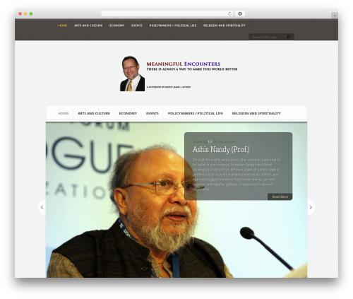 WordPress theme Aggregate - jamesbotkos.org