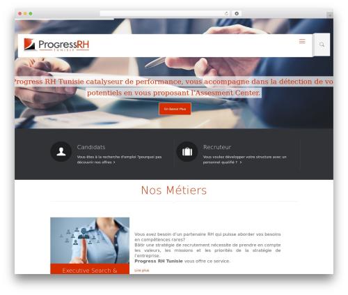 Betheme WordPress theme design - progressrh.com