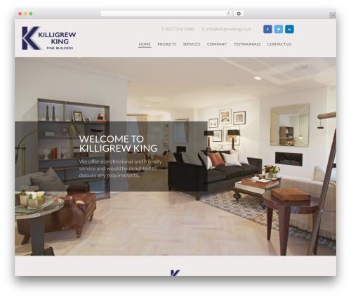 BLANK Theme WordPress website template - killigrewking.co.uk