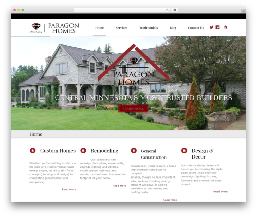 Law business business WordPress theme - paragonhomesmn.com