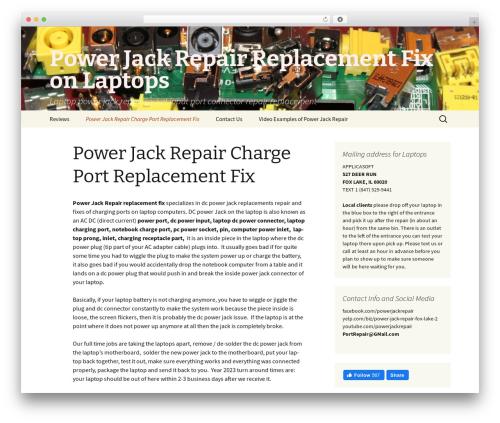 Free WordPress WP Yelp Review Slider plugin - powerjackrepair.org