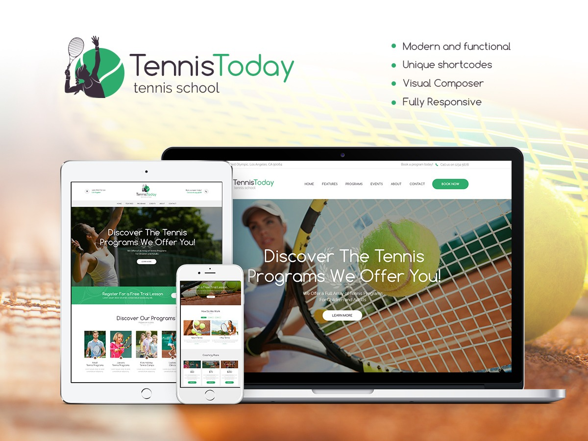 TennisToday template WordPress