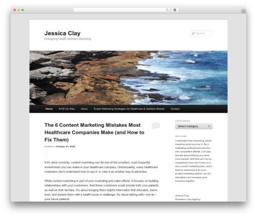 Free WordPress Twenty Eleven Theme Extensions plugin - jessicaclay.com