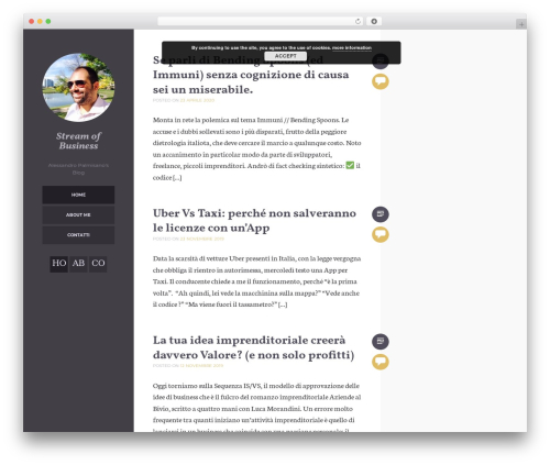 Umbra WordPress template for business - palmisano.biz
