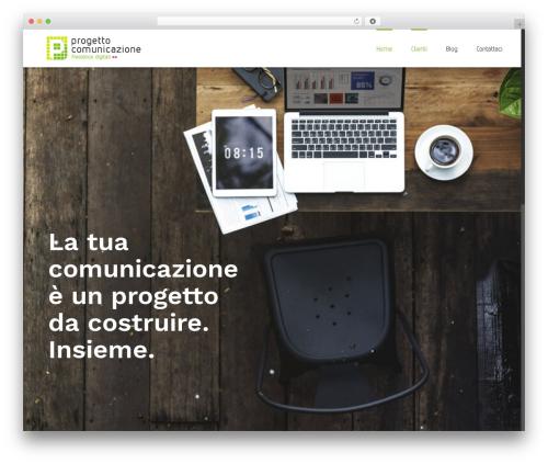 WP theme Avada - progettocomunicazione.com
