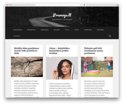 Baskerville WordPress theme - pramogu.lt