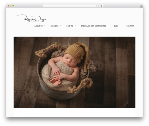 Koncept WordPress template - pdgallery.net/portfolio/newborns