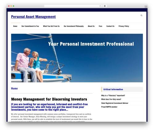 Speedy WordPress theme - personalam.com