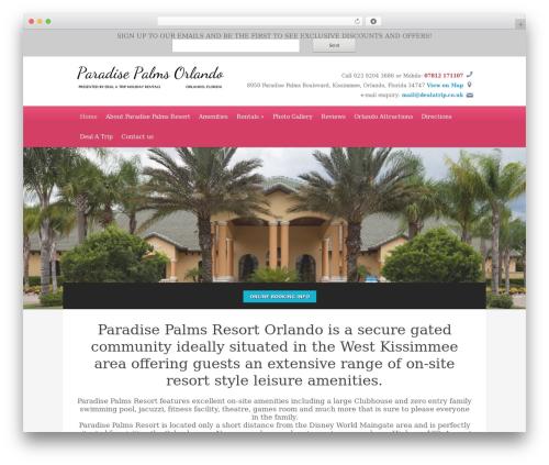 WordPress theme Ambassador - paradisepalmsorlando.co.uk