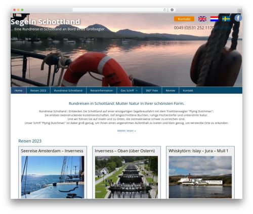 GeneratePress theme WordPress - segelnschottland.de