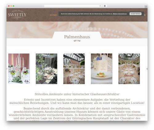 Klasik WordPress theme - palmenhaus-erfurt.de