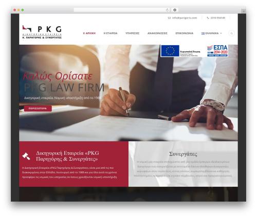 Lawyer Base WordPress theme - parigoris.com