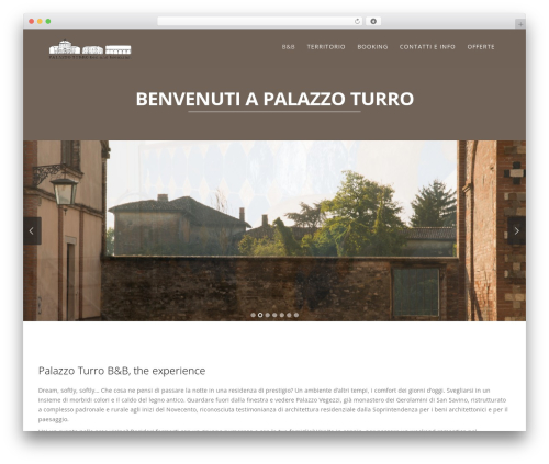 Story top WordPress theme - palazzoturrobnb.it
