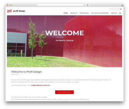 Theme WordPress Construction - profildesign-system.com