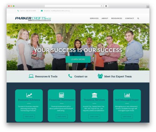 WordPress x-email-mailchimp plugin - parkercrofts.com.au