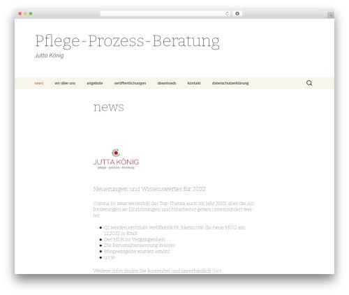 Twenty Thirteen WordPress theme - pflege-prozess-beratung.de