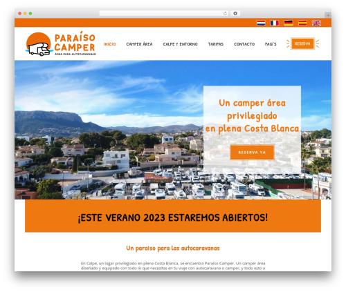 Free WordPress Google Reviews Widget plugin - paraisocamper.com