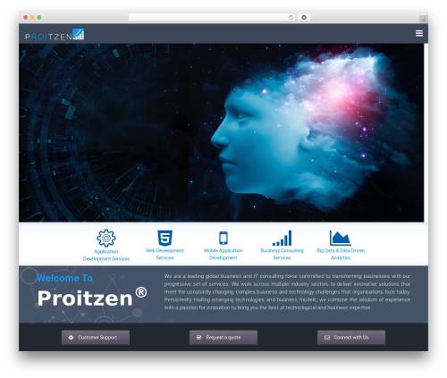 California WordPress theme - proitzen.com