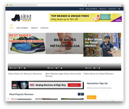 IsleMag WordPress theme free download - compositetoeboots.org