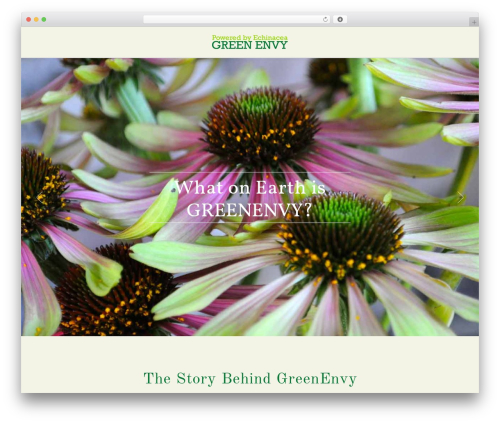 Theme WordPress X - poweredbygreenenvy.com