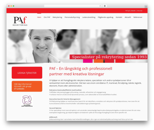 Best WordPress theme Avada - pafrekrytering.se