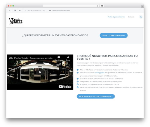 IncomeUp best WordPress theme - paellasgigantesvalencia.com