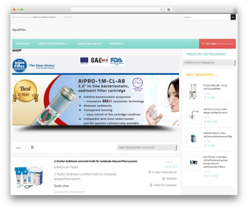 Mix Store best WooCommerce theme - profinefilter.at