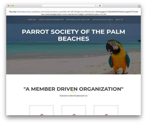 ResponsiveBoat theme free download - parrotsocietypb.club