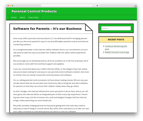 WP template Press Start - parentalcontrolproducts.com