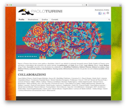 Best WordPress theme Modernize - paoloturini.com