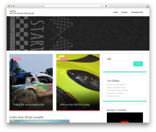 ClubBlog WordPress theme free download - performance-racing.se