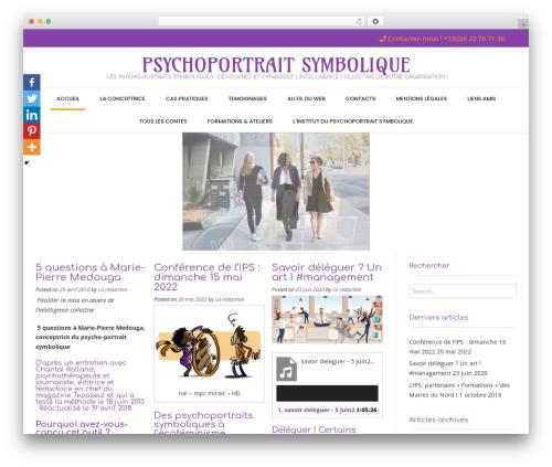 Conica WordPress template free download - psychoportrait-symbolique.com