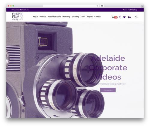Eden WP theme - purplefilm.com.au