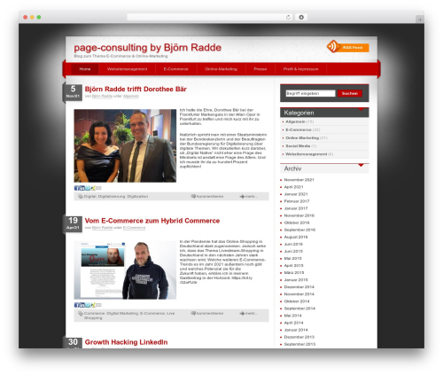 Free WordPress googleCards plugin - page-consulting.de
