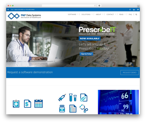 Best WordPress template AccessPress Pro - p-pdata.com