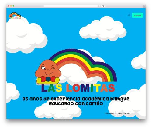 Betheme template WordPress - preescolarlaslomitas.com.ve